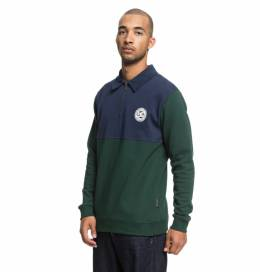 Джемпер-поло DC SHOES Dellwood Polo M Pine Grove 3613373860026