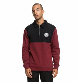 Джемпер-поло DC SHOES Dellwood Polo M Cabernet 3613373859891