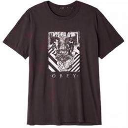 Футболка Obey Scratched Icon Black 193259008894