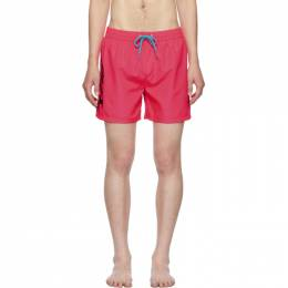 Diesel Pink Wave Swim Shorts SV9U 0AAWS