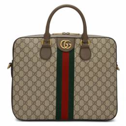 Gucci Brown Ophidia GG Briefcase 574793 K5IZT