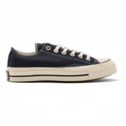 Converse Navy Chuck 70 Low Sneakers 201799M23700803GB
