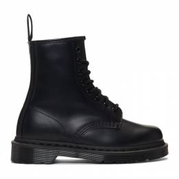 Dr. Martens Black 1460 Mono Lace-Up Boots 192399F11301904GB
