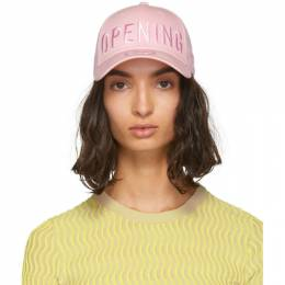 Opening Ceremony SSENSE Exclusive Pink New Era Edition 49Forty Logo Cap 192261F01600701GB