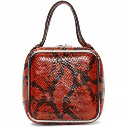 Alexander Wang Red Snake Halo Bag 192187F04600401GB