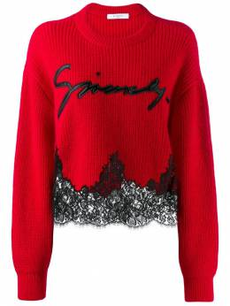 Givenchy - logo knit jumper 6365Z539509999300000