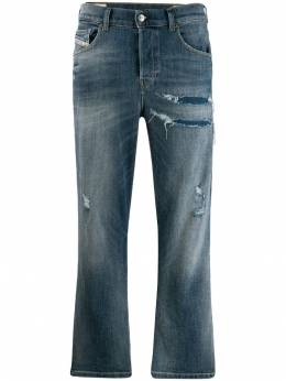 Diesel - faded cropped jeans HG36896X950053680000