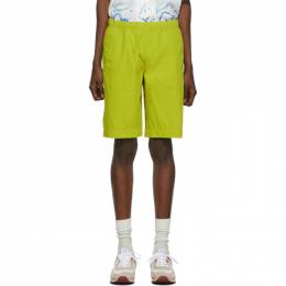 PS by Paul Smith Yellow Classic Shorts 192422M19300103GB