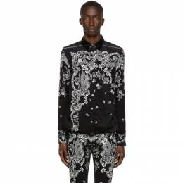 Sacai Black Floral Shirt 192445M19100503GB