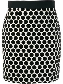 Fausto Puglisi - dotted fitted skirt 8060P6565C9505593900