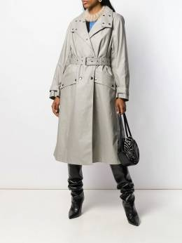 Isabel Marant - high standing collar trench coat 65399A666I9500906600