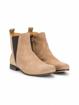 Gallucci Kids - TEEN almond toe boots 635AMAFO568950959890