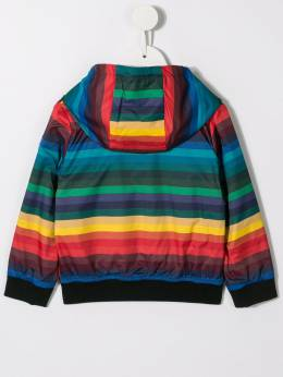Paul Smith Junior - striped hooded jacket 96606095035595000000