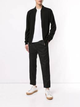 John Smedley - knitted bomber jacket LEAN9568999900000000