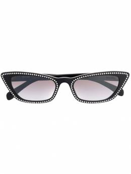 Miu Miu Eyewear - encrusted cat eye sunglasses 96U95983655000000000