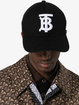 Burberry - TB monogram embroidered cap 69569393530500000000