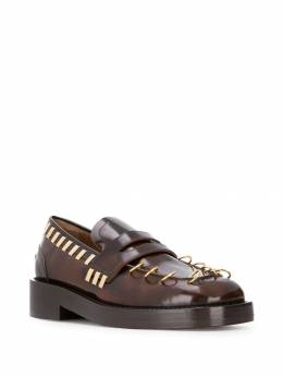 Marni - piercing detail loafers S669665LV85595069365
