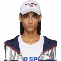 Polo Ralph Lauren	 White Sport Cap 192213M13900401GB