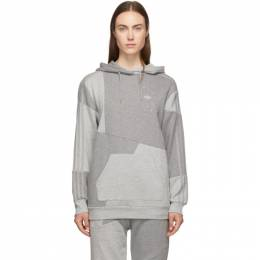 adidas Originals by Danielle Cathari Grey DC Hoodie 192164F09700502GB