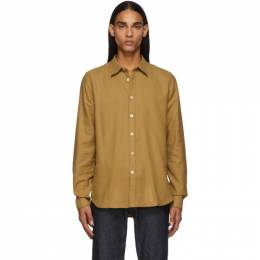 PS by Paul Smith Tan Tailored Shirt 192422M19201004GB