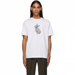 PS by Paul Smith White Rabbit T-Shirt 192422M21303102GB