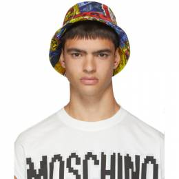 Moschino Multicolor Printed Bucket Hat 192720M14000102GB