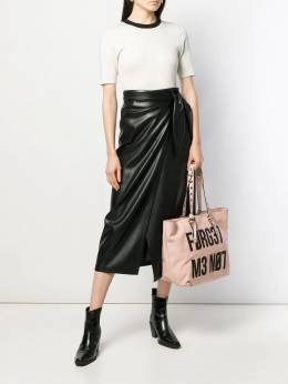 Red Valentino - forget get me not tote bag B6B60KZI950055660000