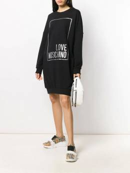 Love Moschino - oversized hoodie dress 5860M566895050896000