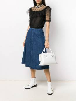 Miu Miu - denim midi skirt 933XIU66895058666000