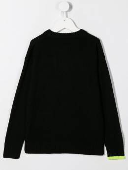 Diesel Kids - slashed logo sweater 5GNKYAPY950595350000