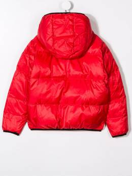 Dsquared2 Kids - logo patch padded jacket 3NUDQ6WQDQ5959505589