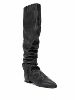 Jil Sander - ruched knee-high boots 3635A966339506888300