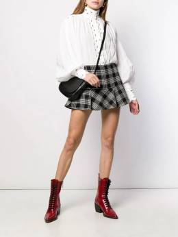 Red Valentino - Red Valentino houndstooth skirt RFB5559A950098390000