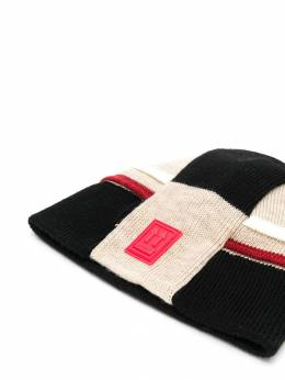 Off-White - colour block knitted hat C665E996066605866950