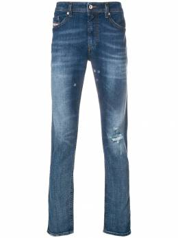 Diesel - distressed fitted jeans W9Q685TW936336980000