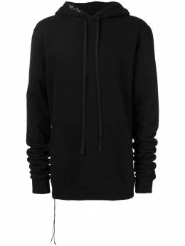Unravel Project drawstring hoodie UMBB001F18209001ELONGATED