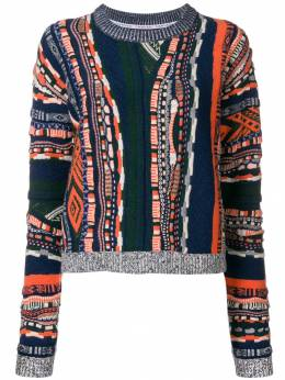 Carven - multi-pattern sweater 9PU69093036955000000