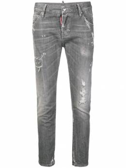 Dsquared2 distressed cropped jeans S72LB0147S30260