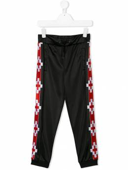 Marcelo Burlon County Of Milan Kids - side panel track pants 96659939869950000000