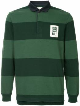 Kent & Curwen striped rugby polo shirt K38I7TM020
