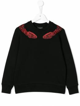 Marcelo Burlon County Of Milan Kids - snake print sweatshirt 96606B69693966339000