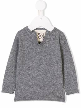 Douuod Kids - notched neck sweater 69690393005399000000