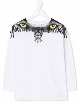 Marcelo Burlon County Of Milan Kids - wolf print T-shirt 96696939665090000000