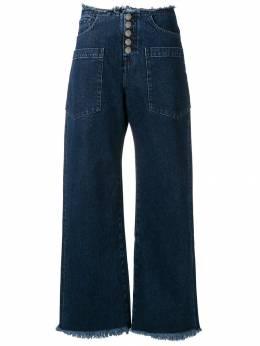 7 For All Mankind джинсы клеш JSDCR990MT