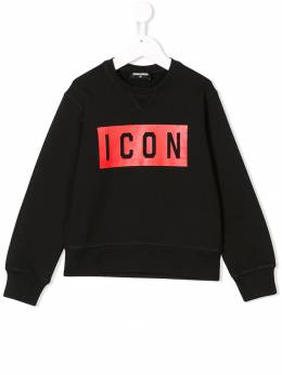 Dsquared2 Kids - толстовка 'ICON' с принтом 3FTD66J3935556960000