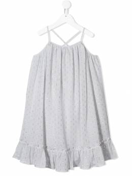 Stella Mccartney Kids платье с люрексом 540969SMK87
