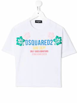 Dsquared2 Kids - футболка с вышивкой 3CFD66MM933639590000