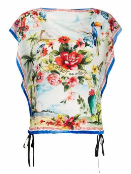 Red Valentino блузка Forget Me Not RR0AE0R0WSM