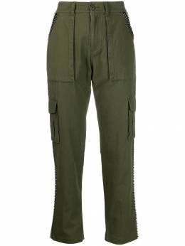 Twin-Set - embellished cargo trousers TP058395006833000000