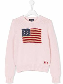 Ralph Lauren Kids - flag crewneck sweater 66966390353559000000